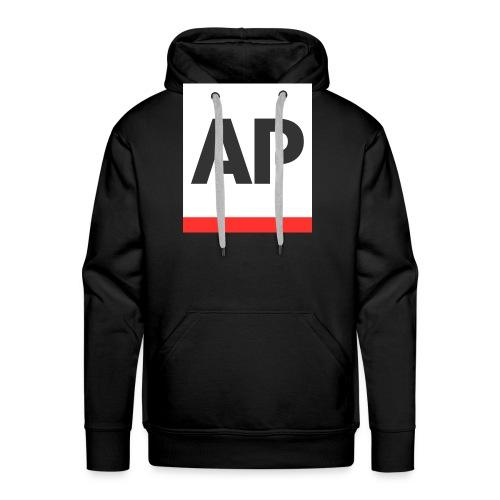 Arjan power logo voor op kleding - Mannen Premium hoodie