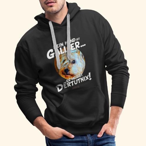 Hunde T-Shirt witziger Spruch für Hundehalter - Männer Premium Hoodie