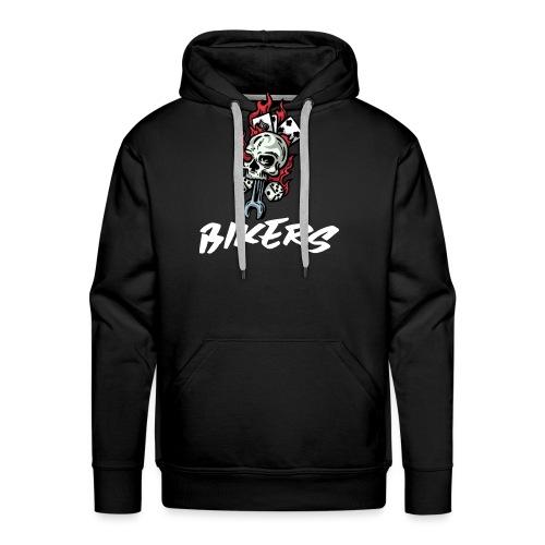 biker 666 - Sweat-shirt à capuche Premium pour hommes