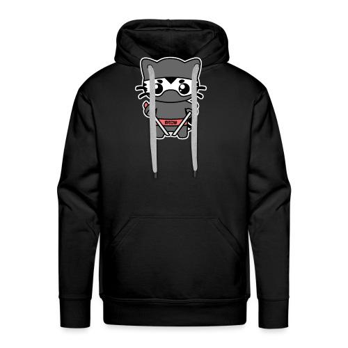 Ninja Katze - Männer Premium Hoodie