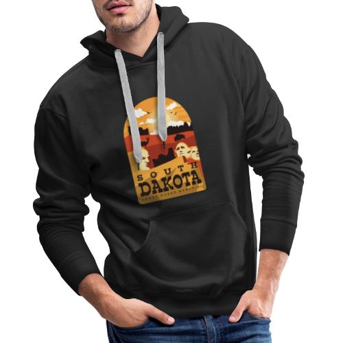 Cooles South Dakota Design online - Männer Premium Hoodie