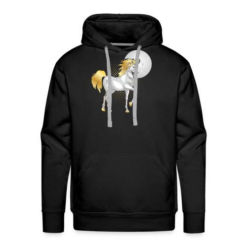 moonlight the unicorn - Men's Premium Hoodie