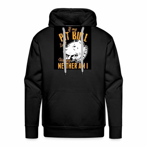 Pitbull my best friend - Sweat-shirt à capuche Premium pour hommes