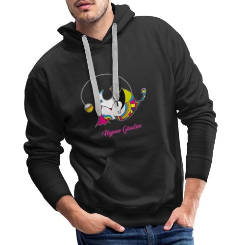 Hypno Glouton - Sweat-shirt à capuche Premium pour hommes