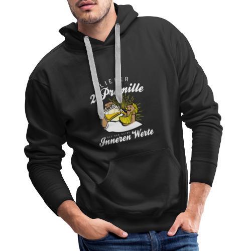 Lustiger Spruch - Lieber 2 Promille - Männer Premium Hoodie