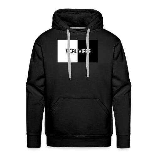Scalviare Black & White - Männer Premium Hoodie