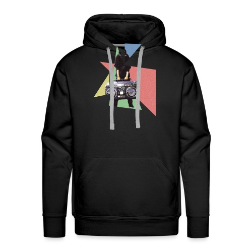 StereoGirl concept2 2 png - Mannen Premium hoodie