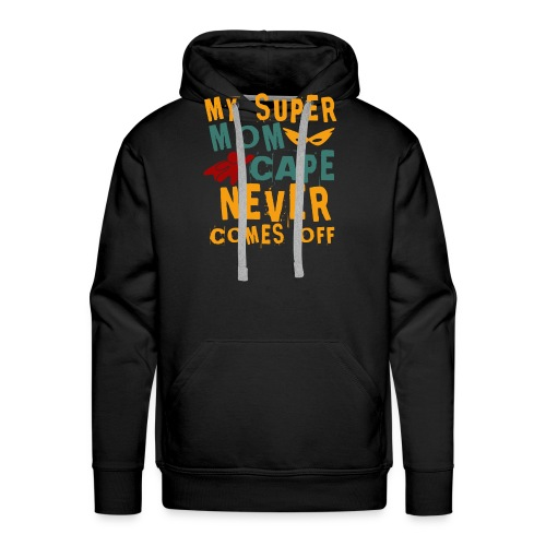Super Mom - Sweat-shirt à capuche Premium pour hommes