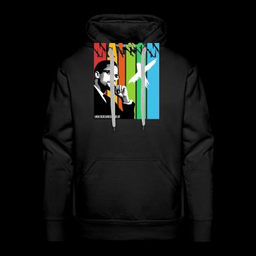 MALCOM X colourful - Männer Premium Hoodie