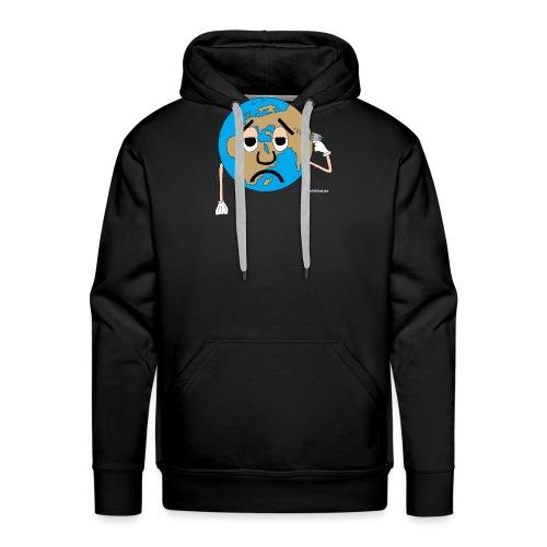 mundo suicida world - Sudadera con capucha premium para hombre