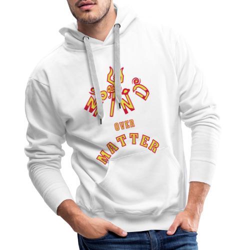 Mind over Matter - Herre Premium hættetrøje