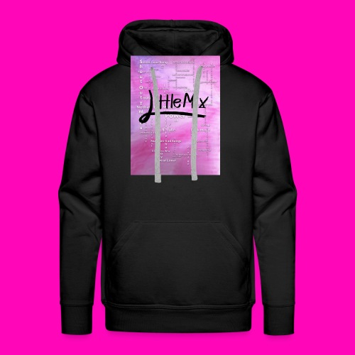 Little Mix success over the past 7 years - Men's Premium Hoodie
