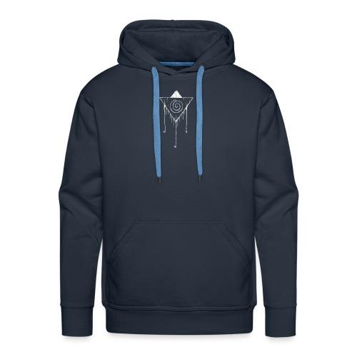 Hypno White - Mannen Premium hoodie