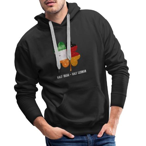 Half Irish Half German Kleeblatt - St Patricks Day - Männer Premium Hoodie