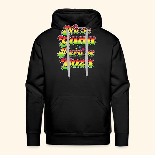 Perú - Frase típica - Sudadera con capucha premium para hombre
