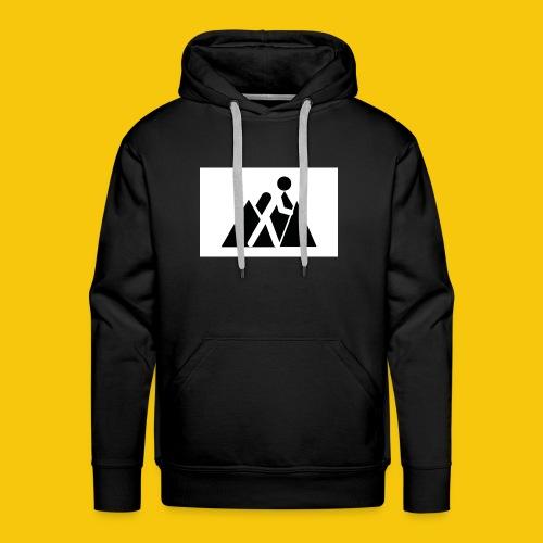 Randonneur - Sweat-shirt à capuche Premium pour hommes