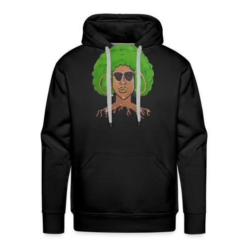 Afro girl - Men's Premium Hoodie