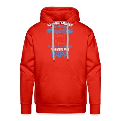 Electricien papa vaderdag cadeau. Cadeau-idee - Mannen Premium hoodie