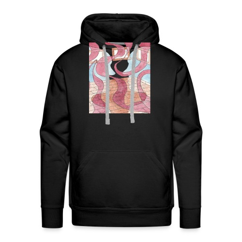 Internal Dialogue - Sweat-shirt à capuche Premium pour hommes