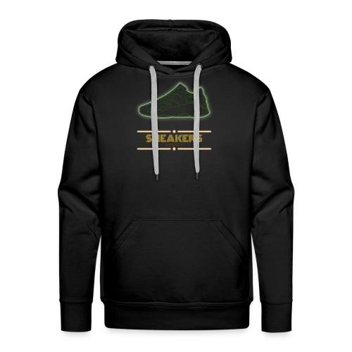 sneaker addict - Sweat-shirt à capuche Premium pour hommes