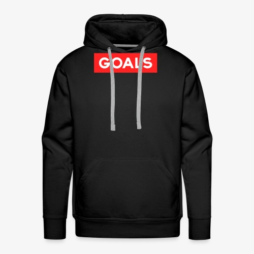 GOALS SQUARE BOX - Men's Premium Hoodie