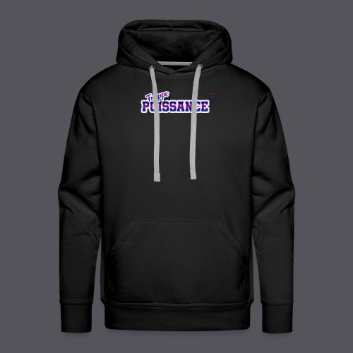 logo-vintage-fpsept - Sweat-shirt à capuche Premium pour hommes