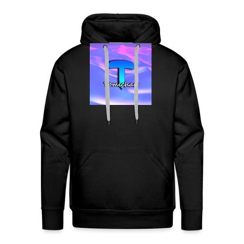 logo tomichau jeu - Sweat-shirt à capuche Premium pour hommes