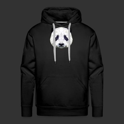 Panda Low Poly - Sweat-shirt à capuche Premium pour hommes
