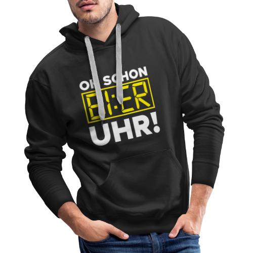OH SCHON BI:ER UHR - Männer Premium Hoodie