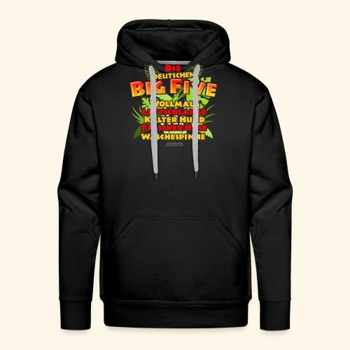 Sprüche T Shirt Die deutschen Big Five - Männer Premium Hoodie