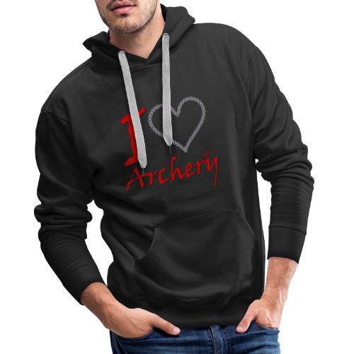 Archery Love - Männer Premium Hoodie