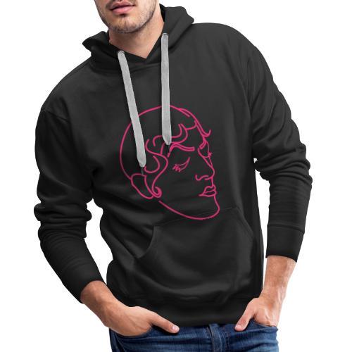 Corrine dans ta face - Sweat-shirt à capuche Premium pour hommes
