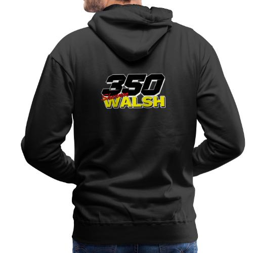 Shannon Walsh 350 Hot Rod front & back - Men's Premium Hoodie