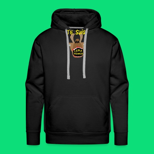 Je sui lama venere - Sweat-shirt à capuche Premium pour hommes