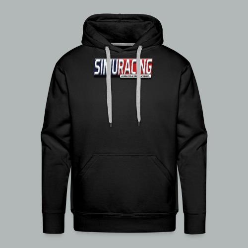 logo Simuracing - Sweat-shirt à capuche Premium pour hommes