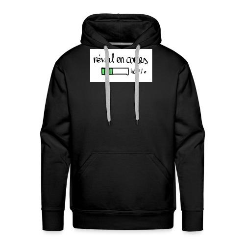 reveil en cours - Sweat-shirt à capuche Premium pour hommes