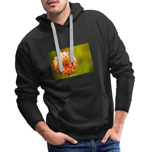 Blomst - Herre Premium hættetrøje