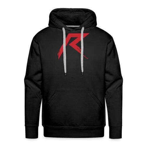R Logo - Mannen Premium hoodie