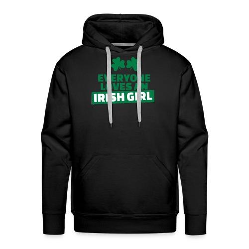 EVERYONE LOVE AN IRISH GIRL - Sweat-shirt à capuche Premium pour hommes