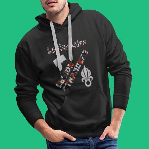 leg legion - Sweat-shirt à capuche Premium pour hommes