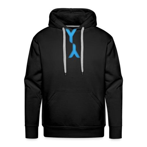 Logo Officel Yandaillou - Sweat-shirt à capuche Premium pour hommes
