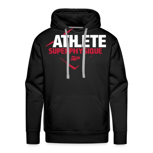 ATHELEFINAL - Sweat-shirt à capuche Premium pour hommes