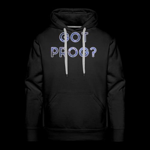 GOT_PROG_white - Men's Premium Hoodie