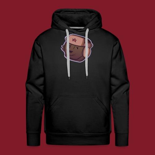 Russian Bear - Sweat-shirt à capuche Premium pour hommes