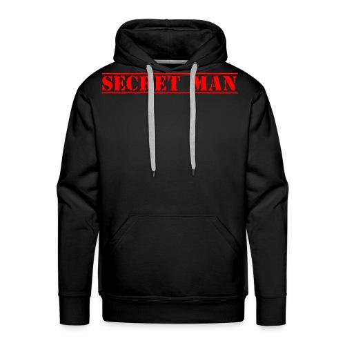 Secret man - Sweat-shirt à capuche Premium pour hommes