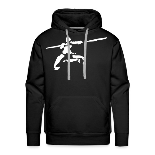 kungfu real ink - Men's Premium Hoodie