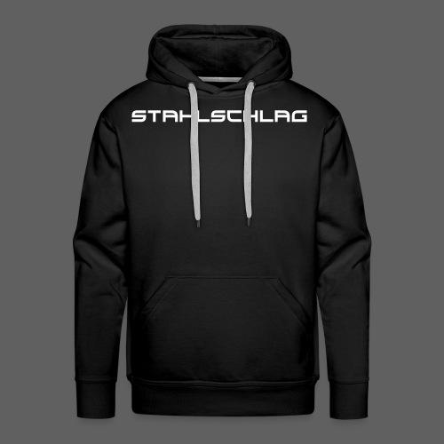 STAHLSCHLAG Text - Men's Premium Hoodie