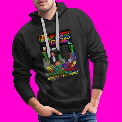 LET S GO TO SPACE - Men's Premium Hoodie