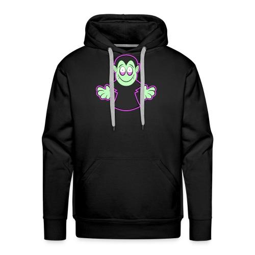 Süßes Vampir Halloween Design - Männer Premium Hoodie