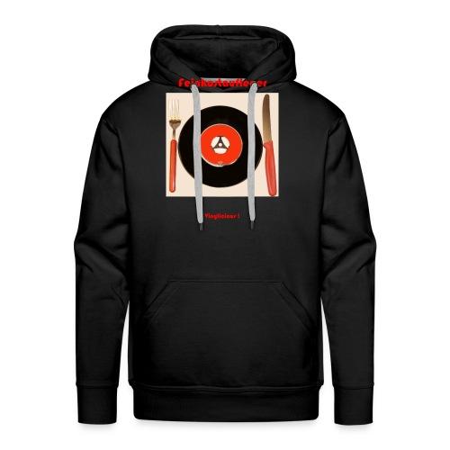 Feinkostaufleger Vinylicious - Männer Premium Hoodie